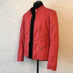 Point Zero Nicole Benisti Vegan Leather Jacket